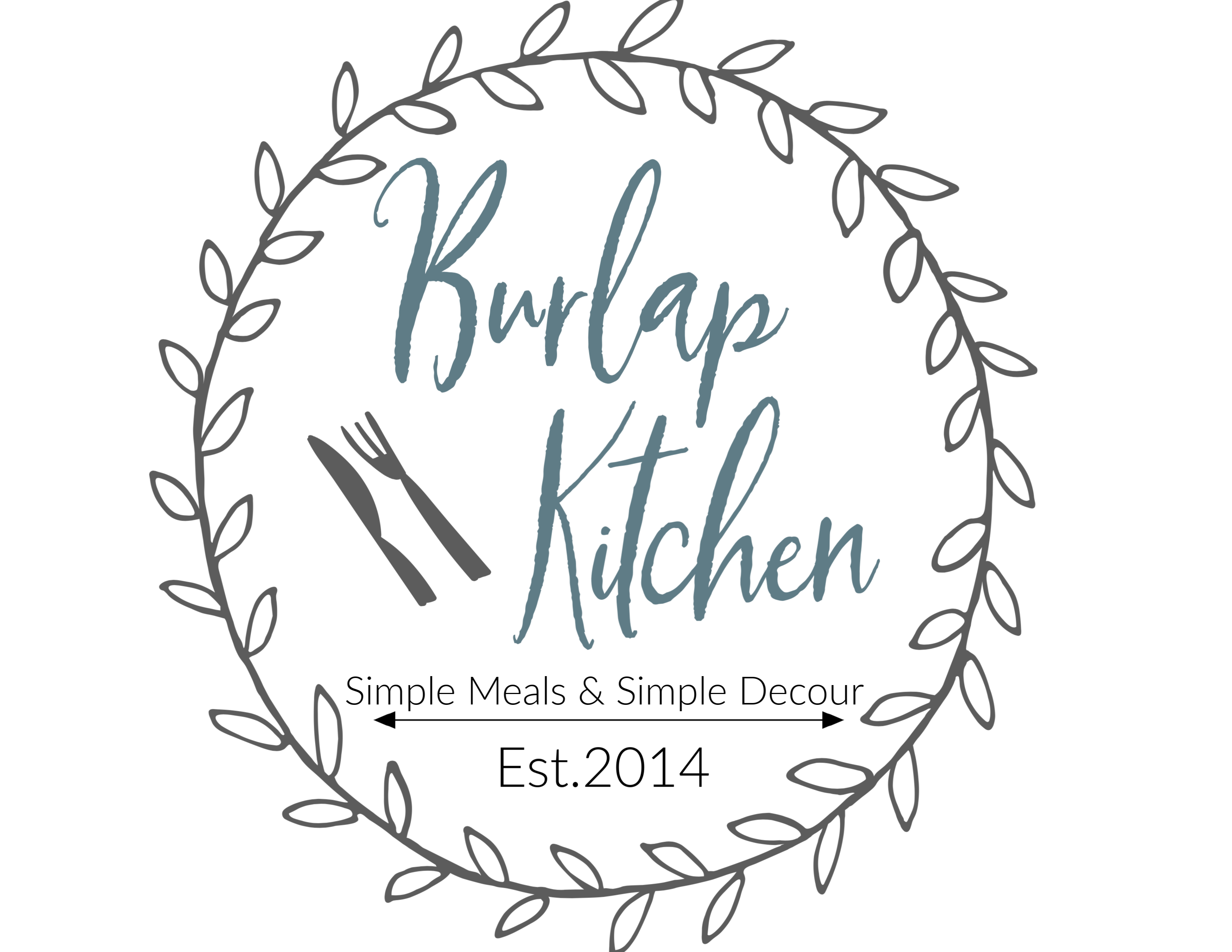 Logo for Burlap Kitchen