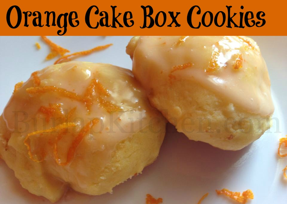 Cake Box Cookie Temp