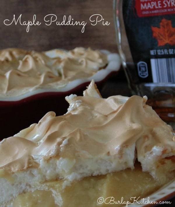 Pudding Pie Recipes