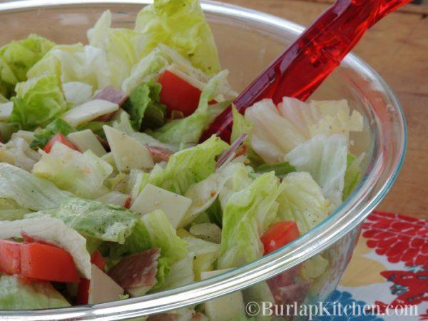 Hoagie Salad