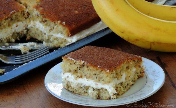Banana Whoopie Pie Cake