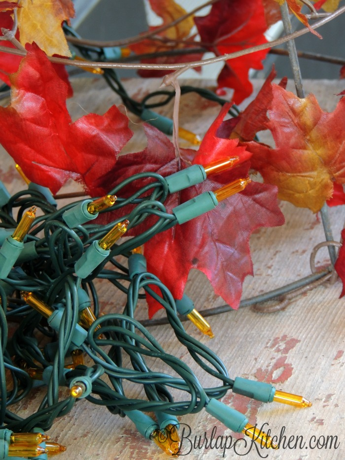 DIY Tomato Stake Fall tree - 4