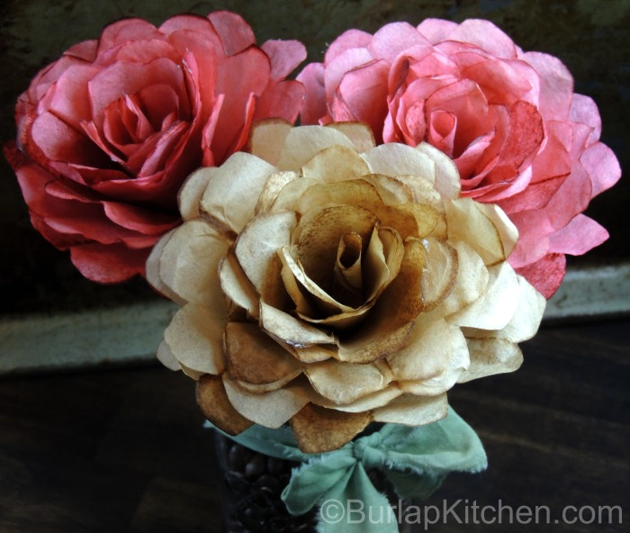 Coffee filter flowers final
