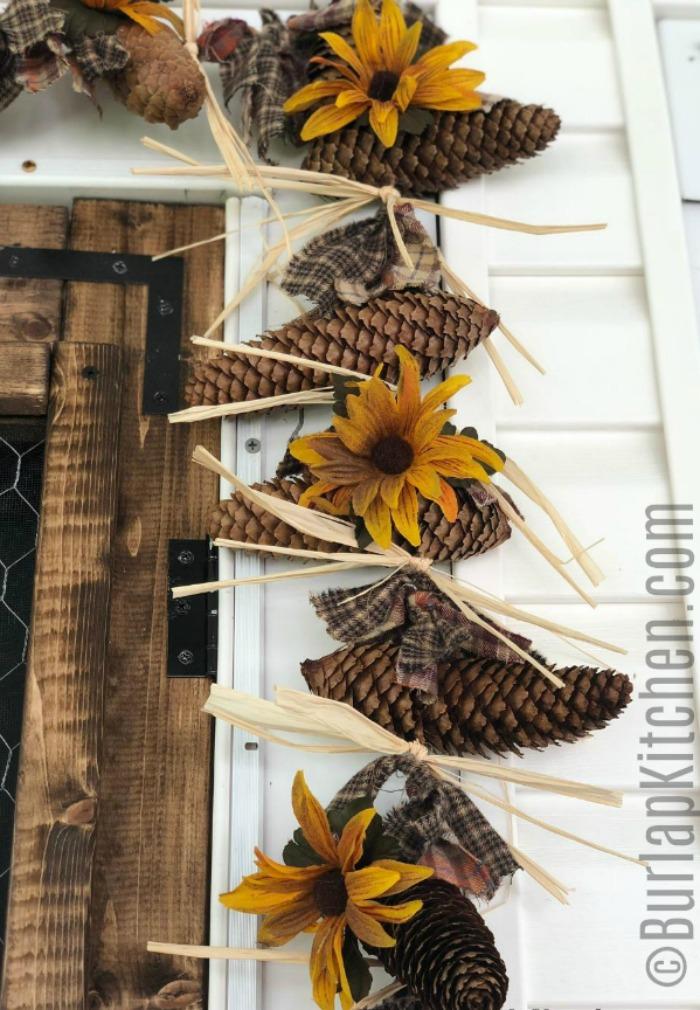 pine cone garland final