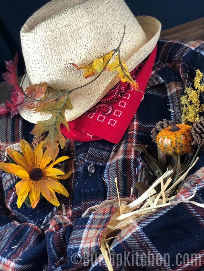 scarecrow wreath step 6