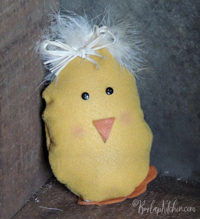 Felt Chick